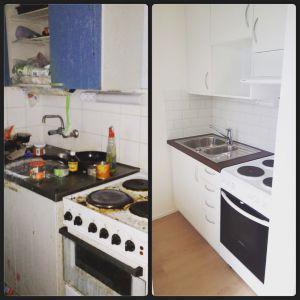Före / Ennen / Before & Efter / Jälkeen / After