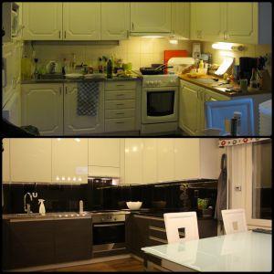 Före / Efter : Ennen / Jälkeen : Before / After